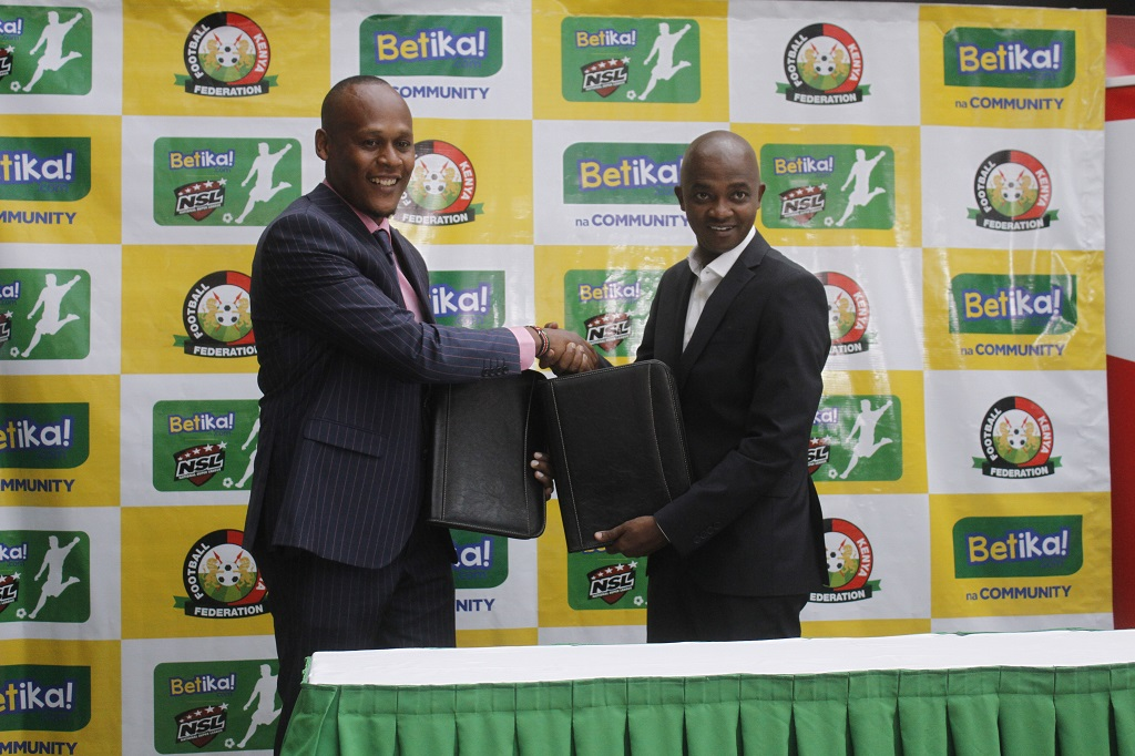 FKF unveils Betika as NSL partner in KES 90 Million deal
