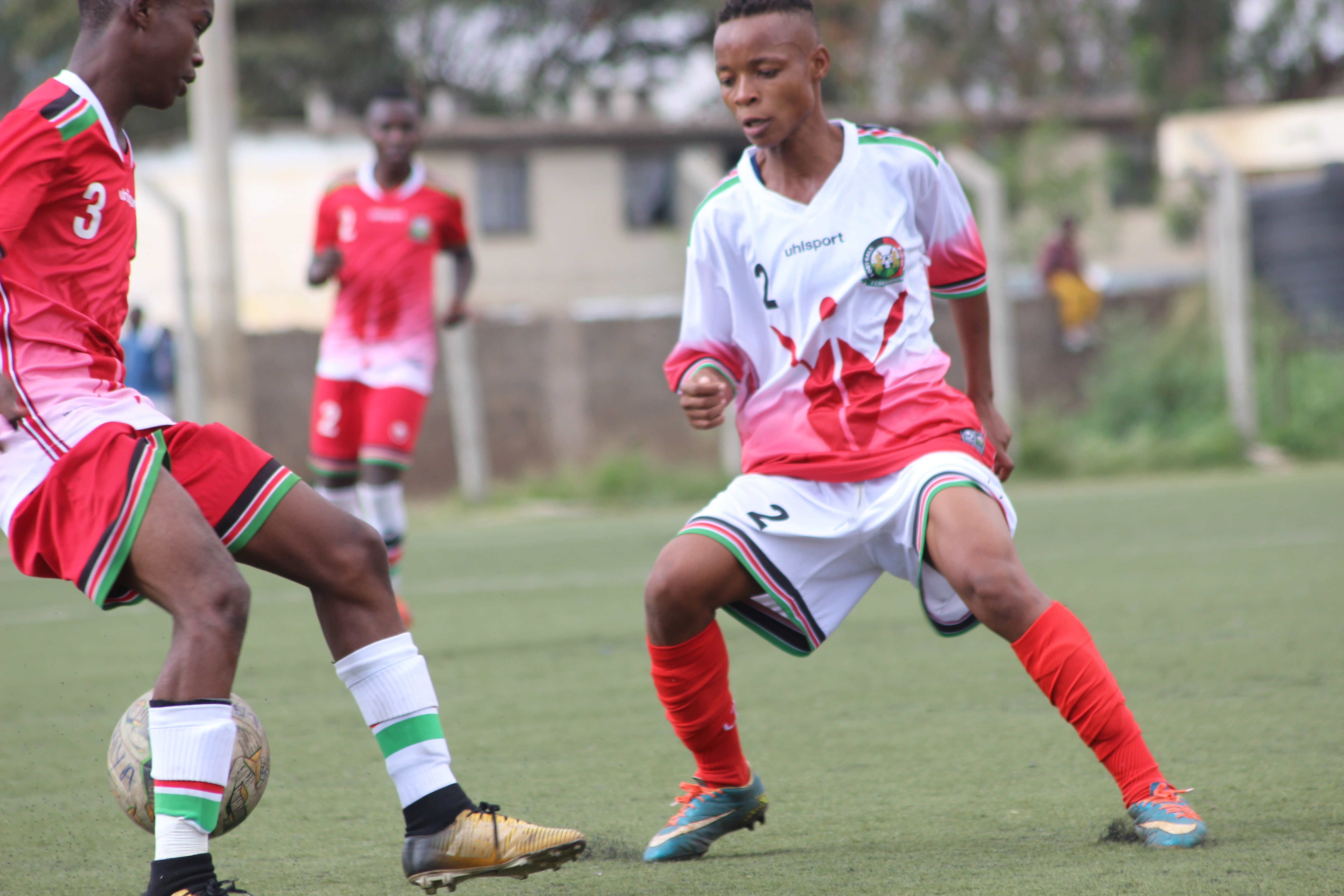 Harambee Starlets fall to U15 Juniors as Ghana preps hot up
