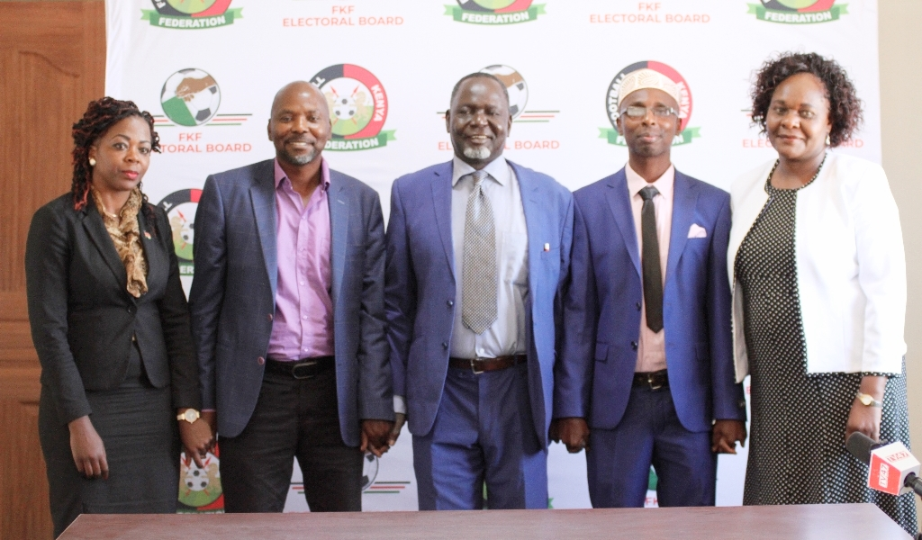 FKF Electoral Board unveiled, nomination, election dates set