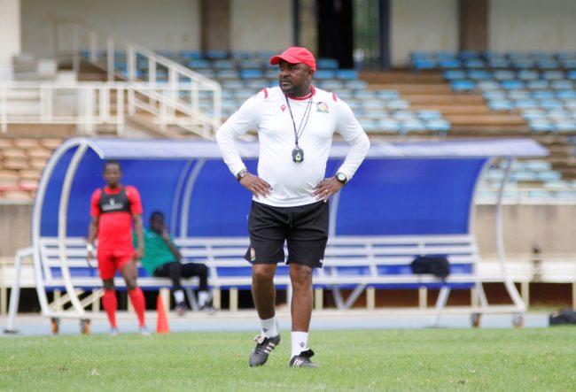 Francis Kimanzi Harambee Stars