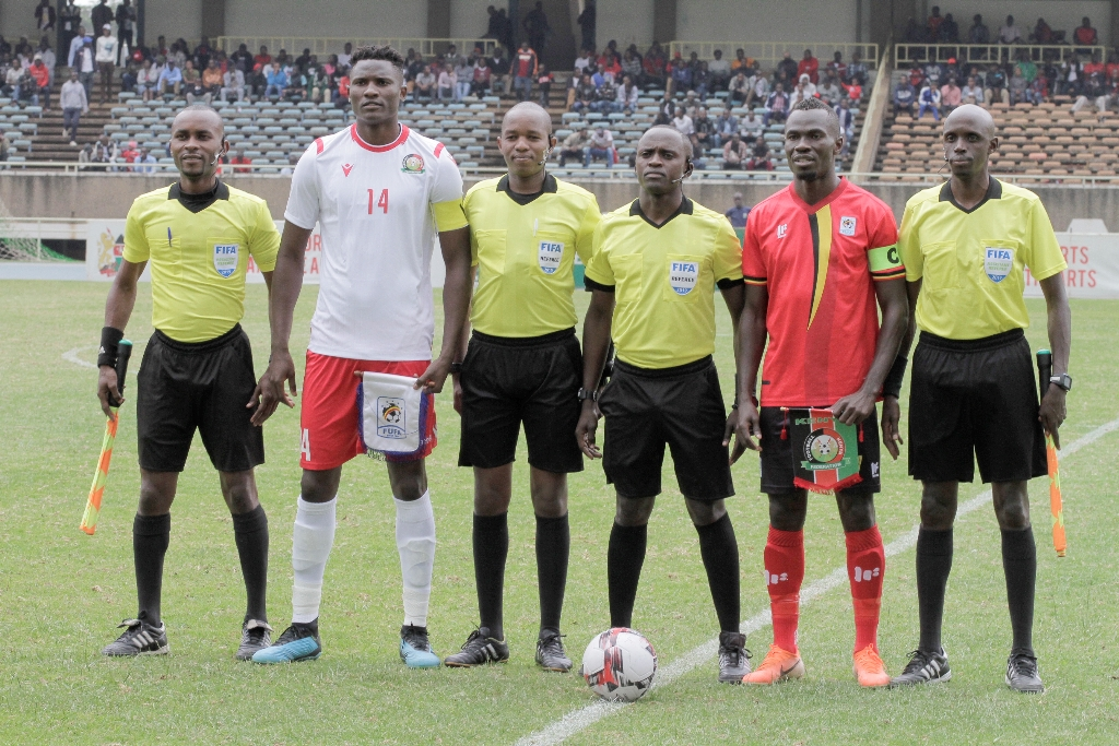 Match officials for Harambee Stars, Mozambique friendly named