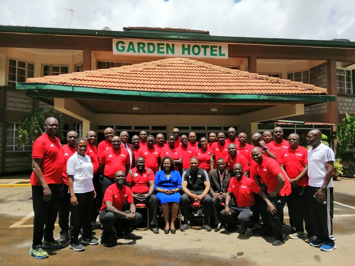 FIFA Referees Instructors course culminates, 35 match commissioners certified