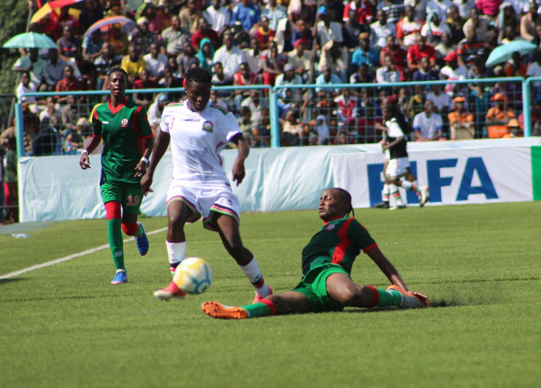 Harambee Starlets romp into CECAFA final with big win over Burundi