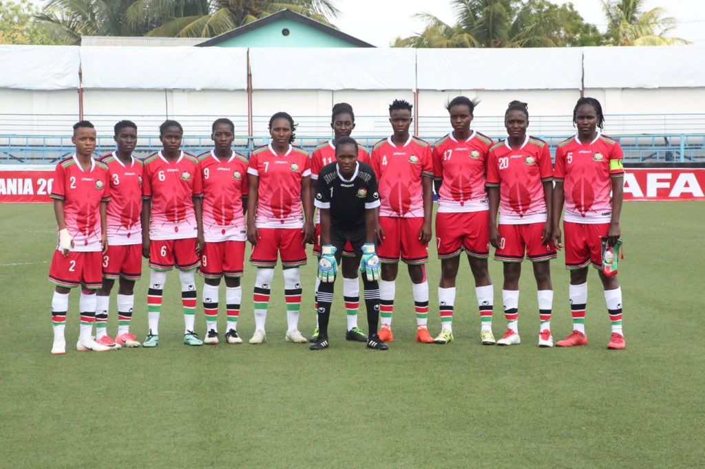 Harambee Starlets starting lineup for Tanzania CECAFA final named