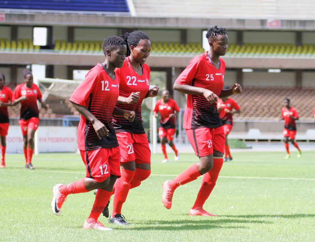 Harambee Starlets touch base in Zambia, all set for Monday's second leg