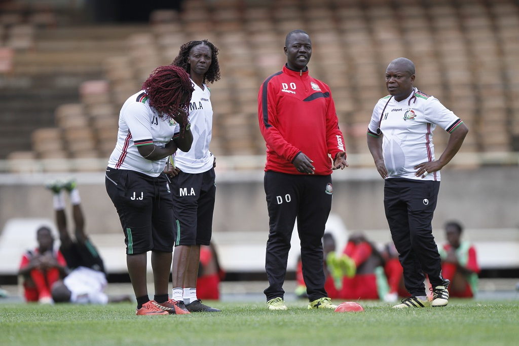 Harambee Starlets final squad for Zambia Olympics Qualifier named