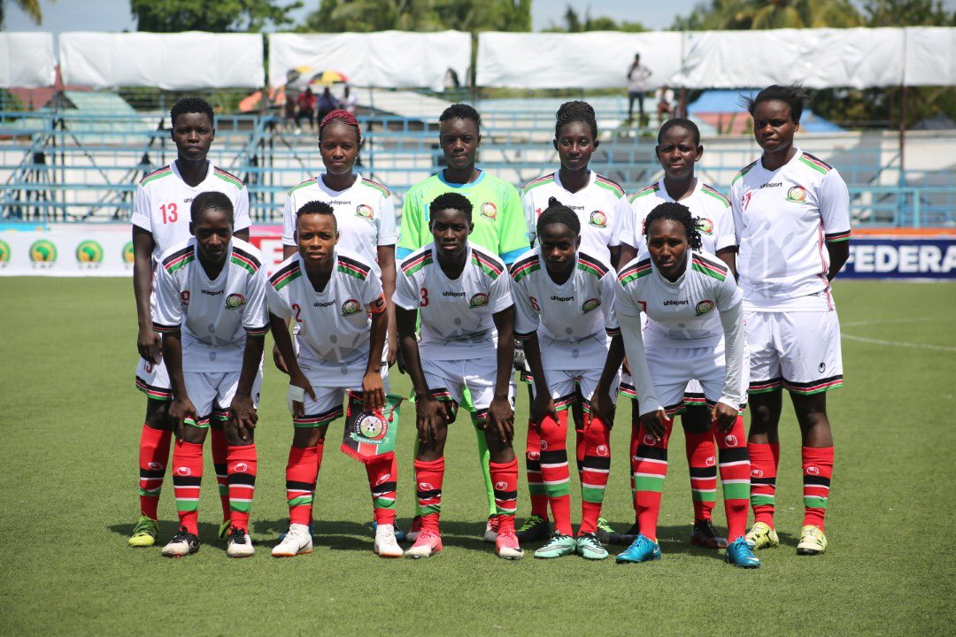Harambee Starlets starting lineup for Burundi CECAFA  match named