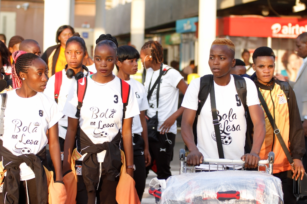 Zambia's Shepolopolo arrive in Nairobi ahead of Harambee Starlets Olympics Qualifier