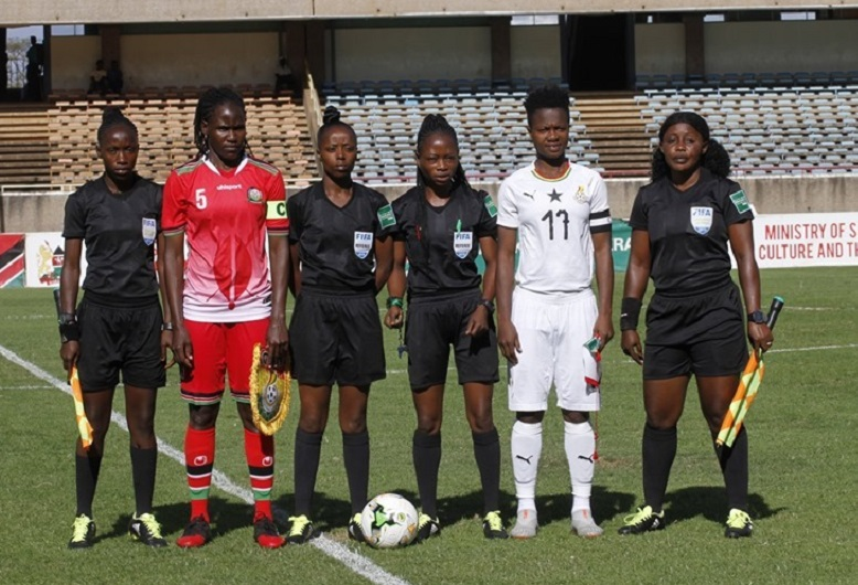 Match officials for Harambee Starlets, Zambia Olympic Qualifier match named.