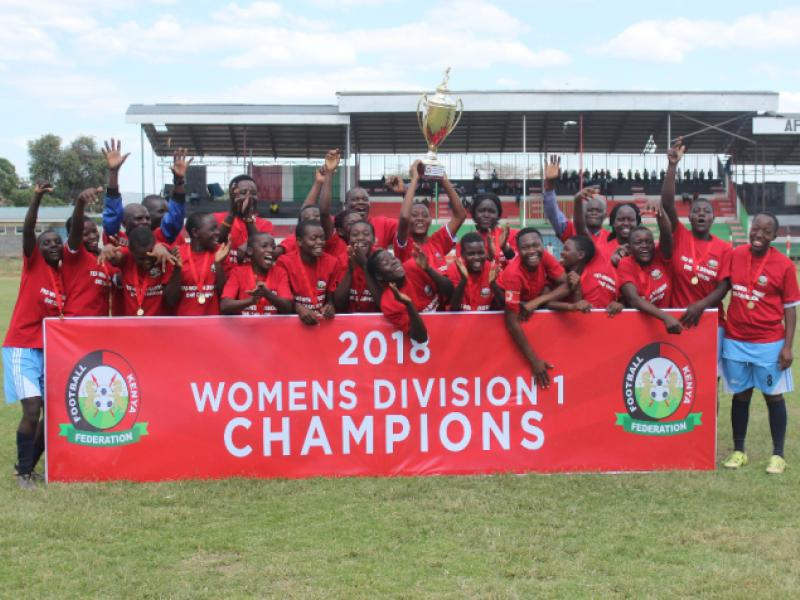 Vihiga Queens coronation, WPL promotion playoff scheduled for this weekend