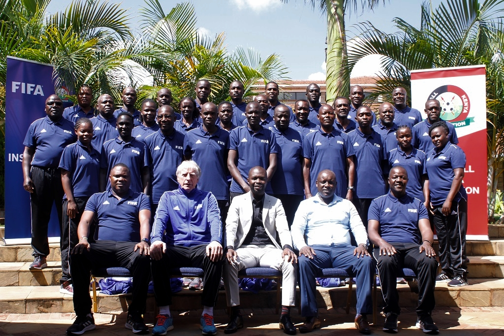 Second round of FKF Instructors Course kicks off, 30 participants to benefit