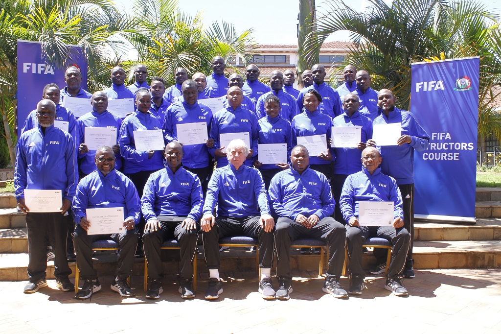 First round of the FKF Fifa Instructors course concludes, second round lined up