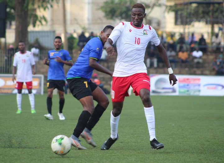 Harambee Stars starting lineup ahead of game against Sudan
