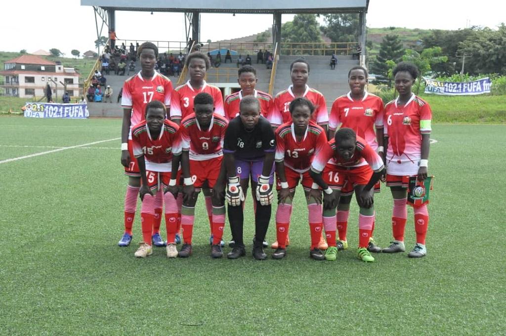 Kenya U17 Girls starting lineup for Uganda match named