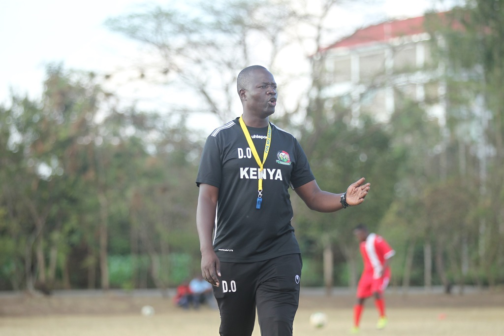 Harambee Starlets coach David Ouma nominated for 2019 Safaricom SOYA awards