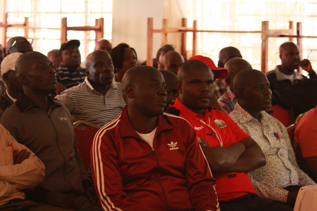 FKF match commissioners course materializes in Kakamega