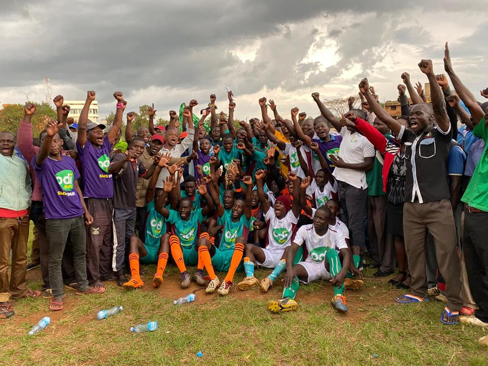 FKF, OdiBets partnership extends to Nyanza as Siaya teams receive jerseys