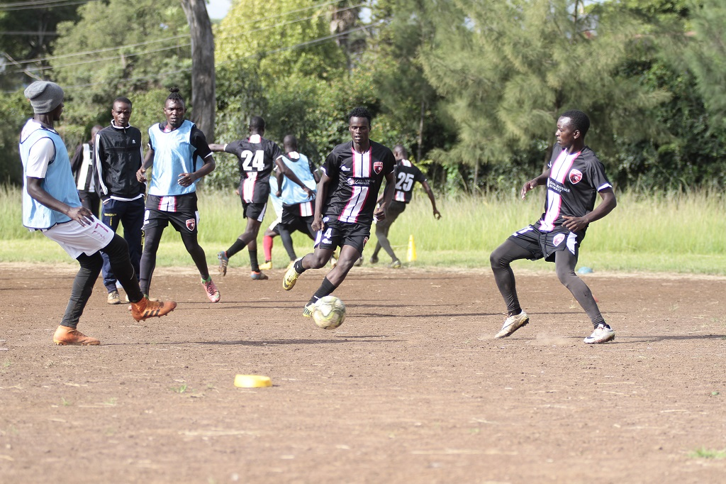 Betika NSL: Ushuru coach Odijo promises comeback against Black Stars