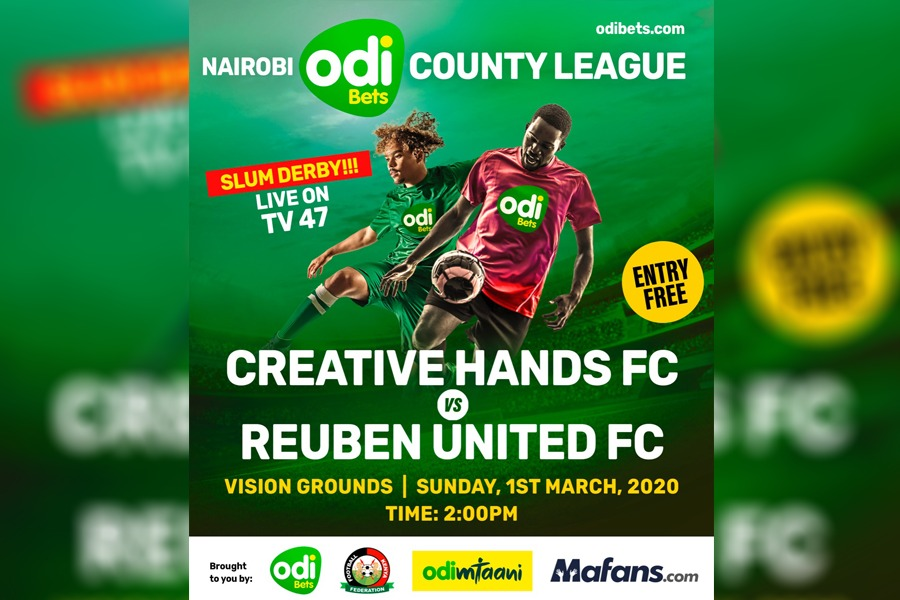 OdiMtaani: Creative Hands, Reuben United sets record as first LIVE grassroot leagues match