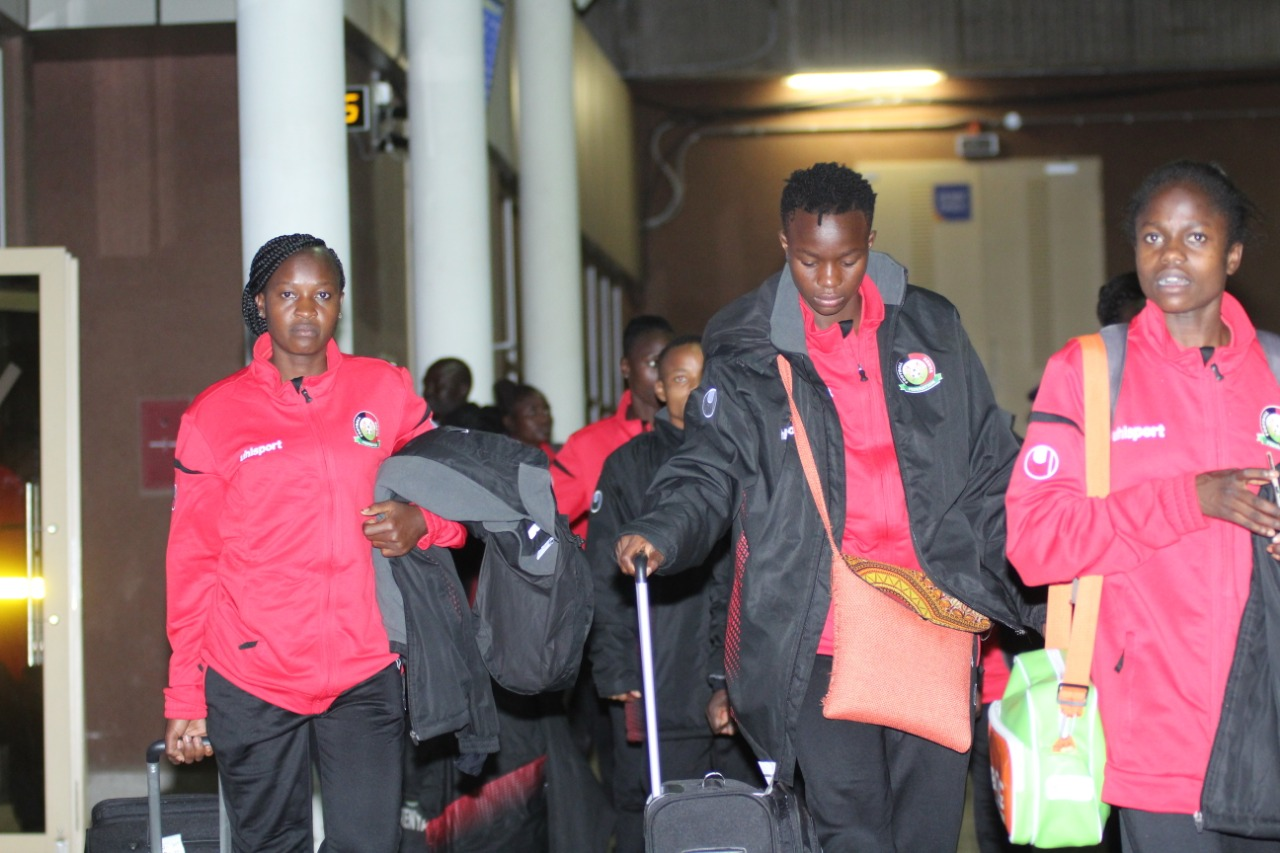 Harambee Starlets jet back, shift focus to Malawi return match