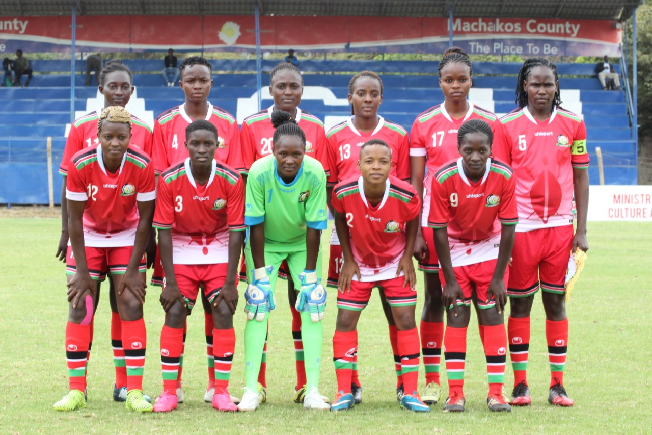 Harambee Starlets jet out ahead of Malawi Olympics Qualifier