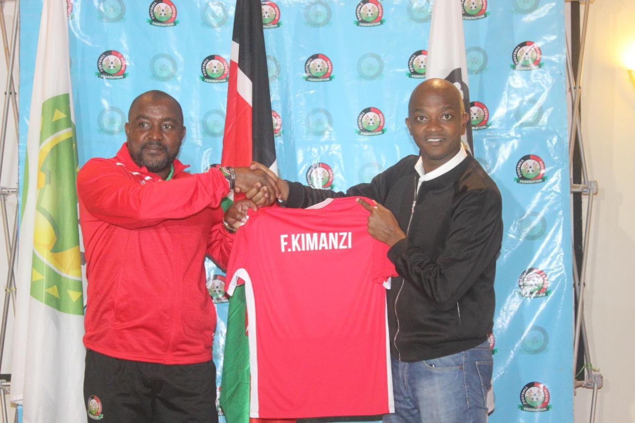Francis Kimanzi unveiled as Harambee Stars' coach