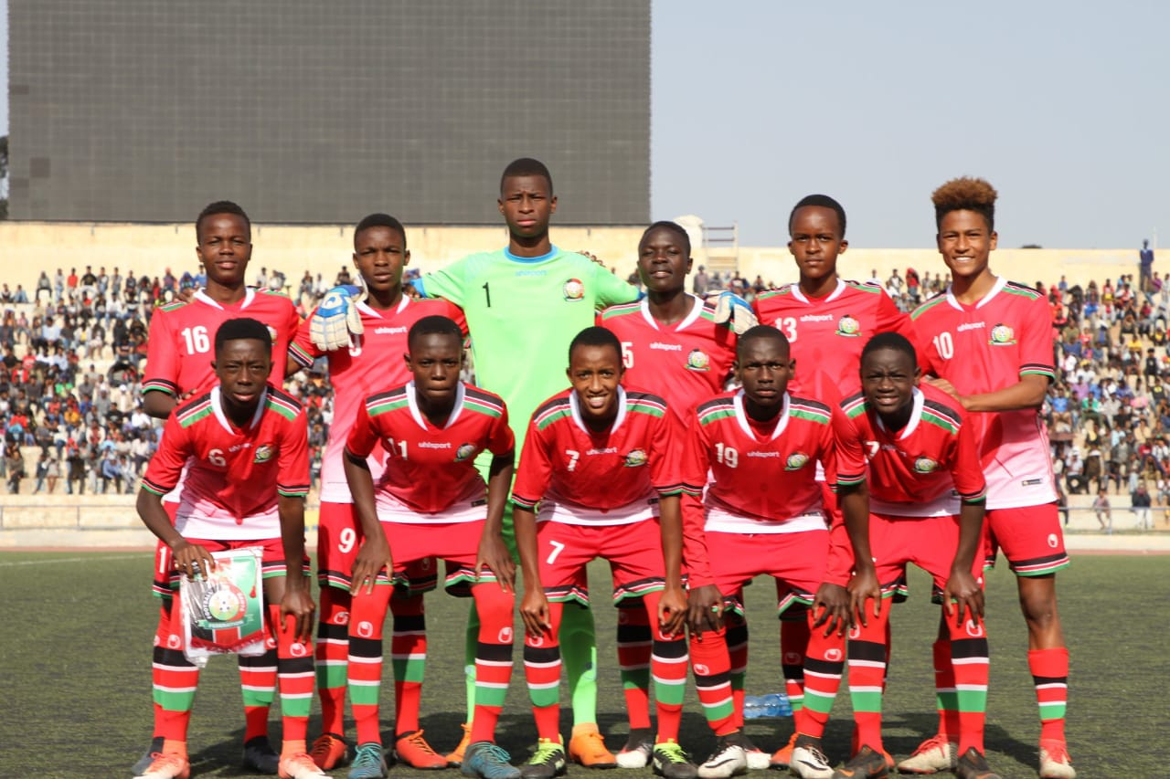 Kenya U15 team held by Migori Youth Talent Academy in friendly