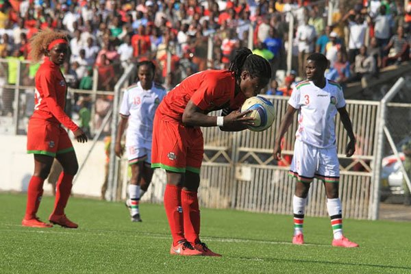 Harambee Starlets bank on away goals ahead of Malawi return match