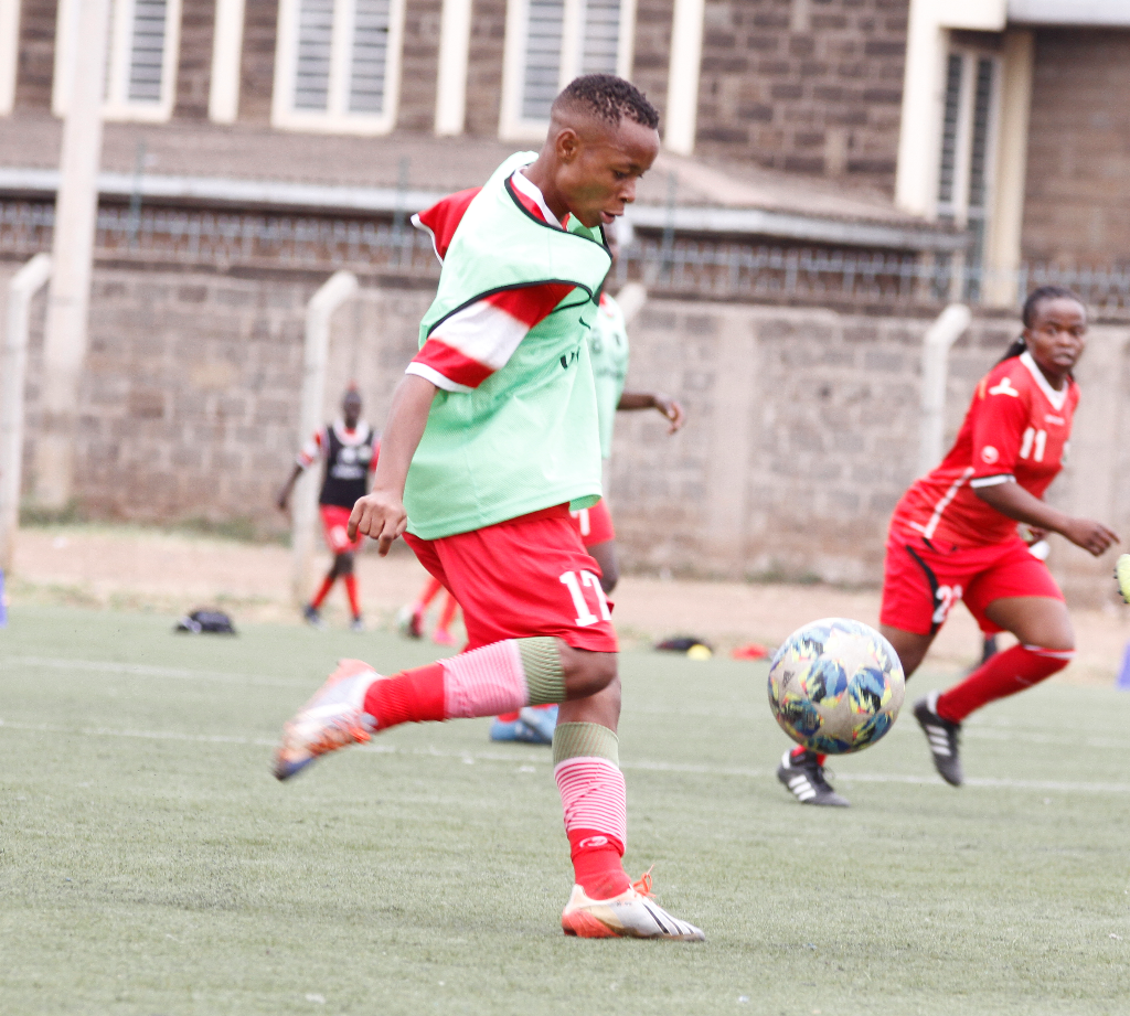 Mwanahalima Adam stars in Harambee Starlets friendly win over Ethiopia