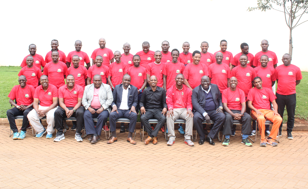 Central Region activates round one of CAF C License coaching courses