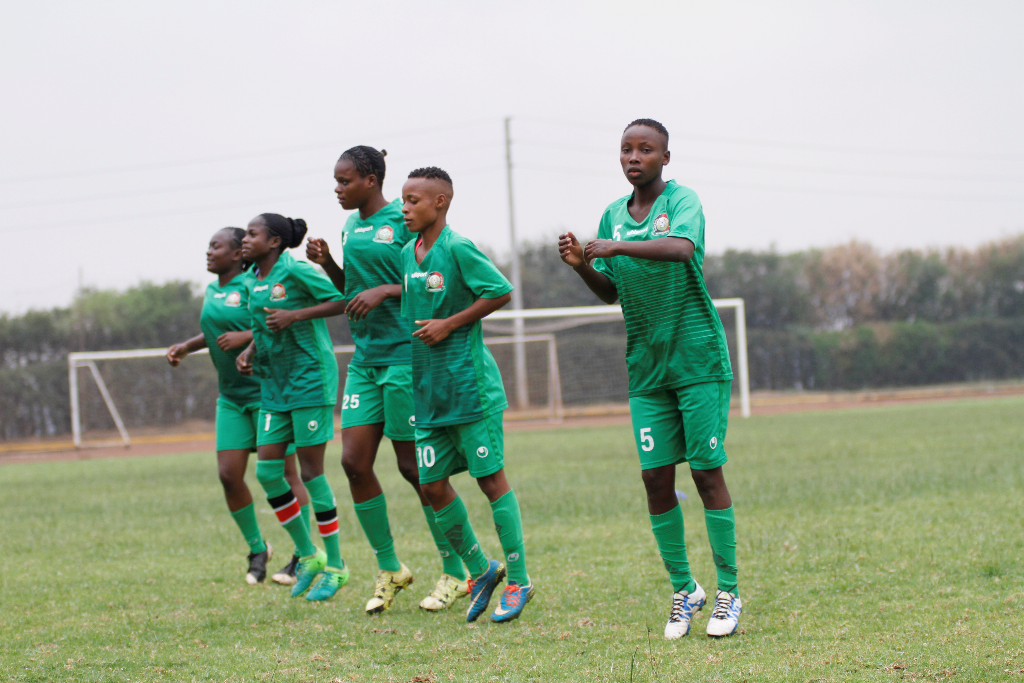 Harambee Starlets commence training ahead of Ghana Olympics Qualifier