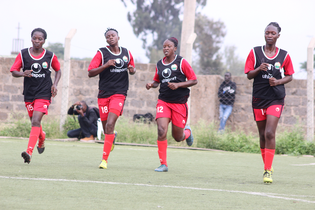 Harambee Starlets step up preparations for Ghana Olympics Qualifier