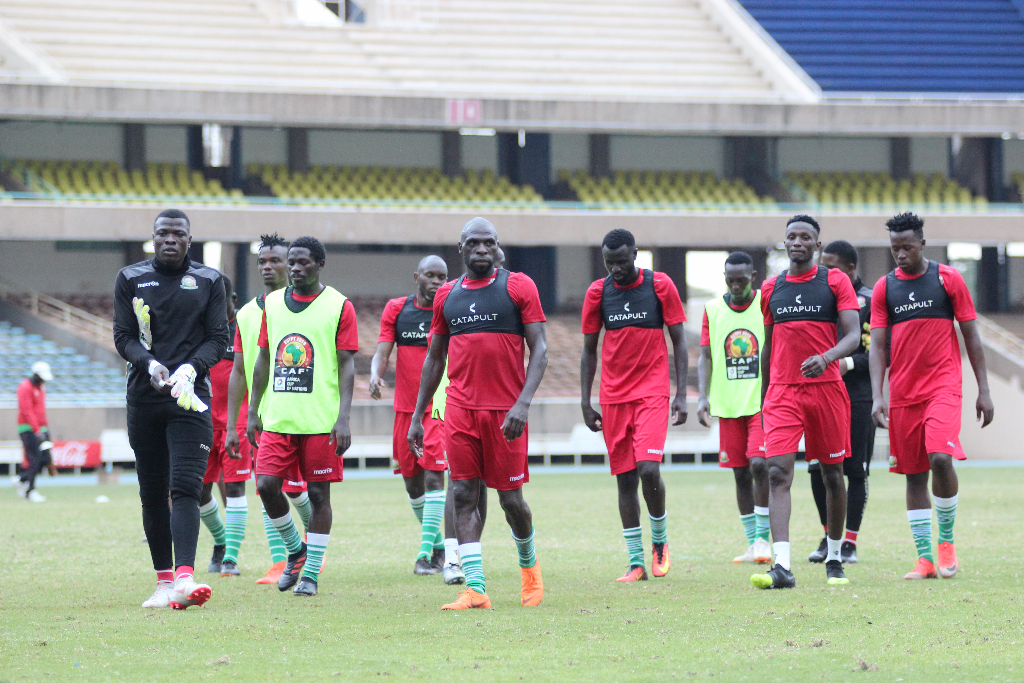 Near full house in Harambee Stars camp ahead of Uganda friendly