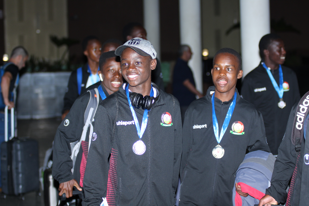 Kenya U15 Junior Stars jet back from CECAFA exploits in Eritrea