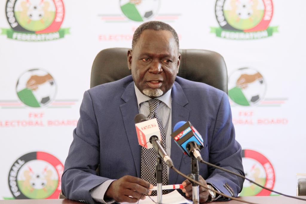 FKF Electoral Board Edwin Wamukoya