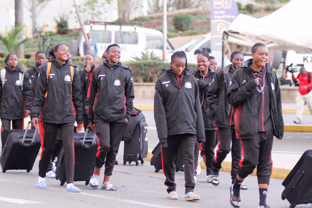 Harambee Starlets jet out ahead of Ghana Olympics Qualifier