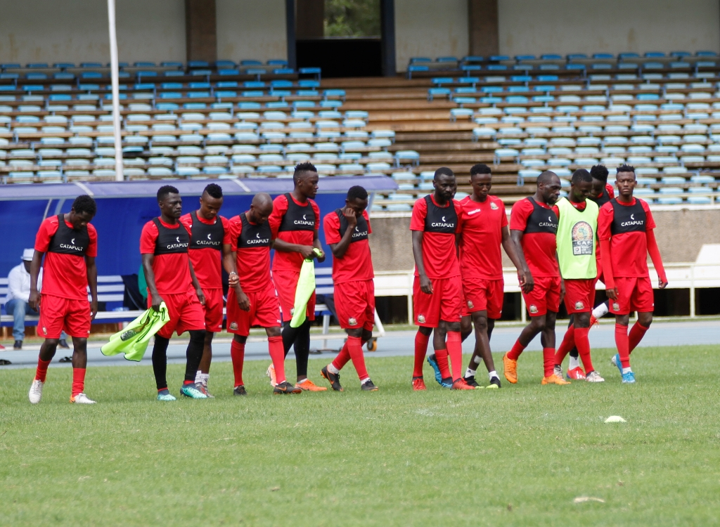 Harambee Stars finalizes training ahead of Mozambique friendly