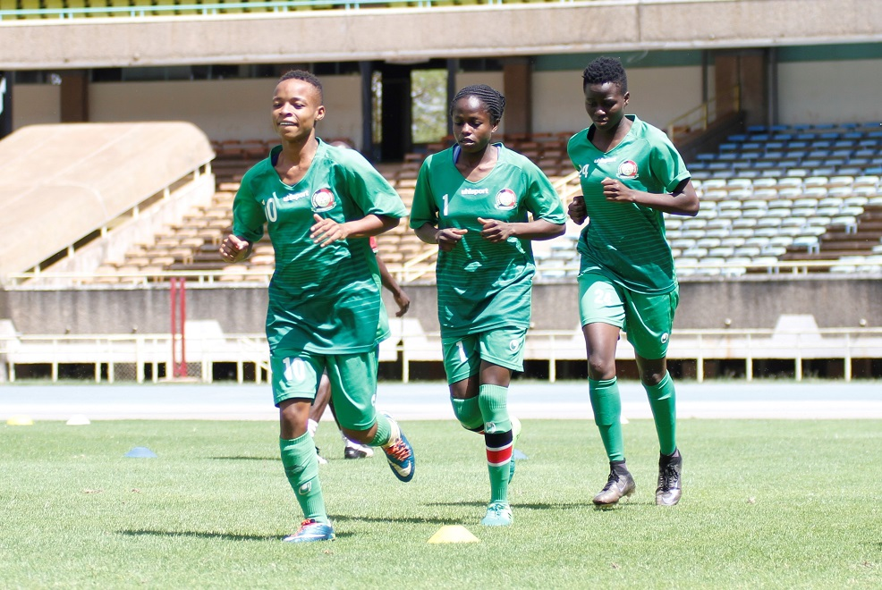 Harambee Starlets starting lineup for Ghana Olympic qualifier named