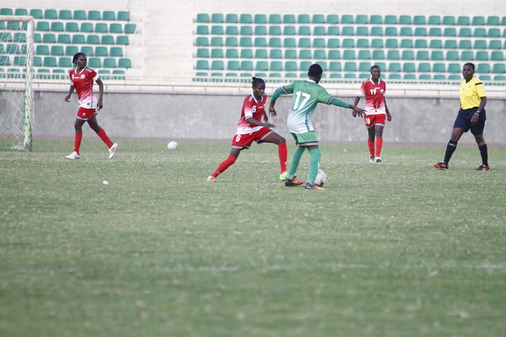 Harambee Starlets fall to U15 Juniors ahead of Zambia Olympic Qualifiers
