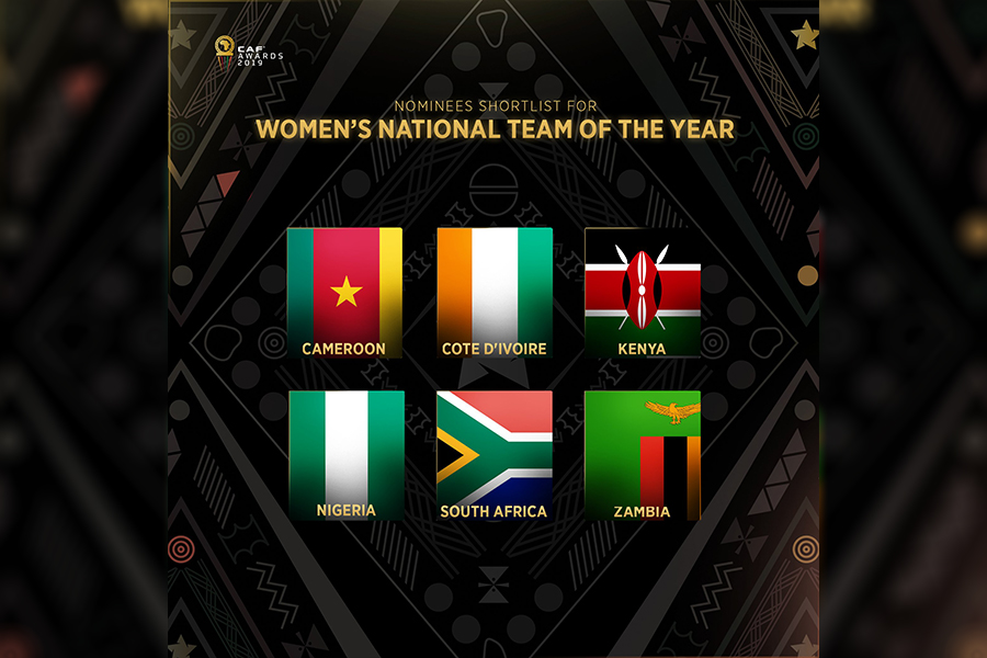 Harambee Starlets, Coach Ouma earn CAF Awards recognition