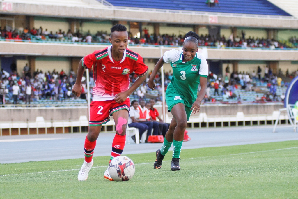 Harambee Starlets held by Zambia in Olympic qualifiers first leg