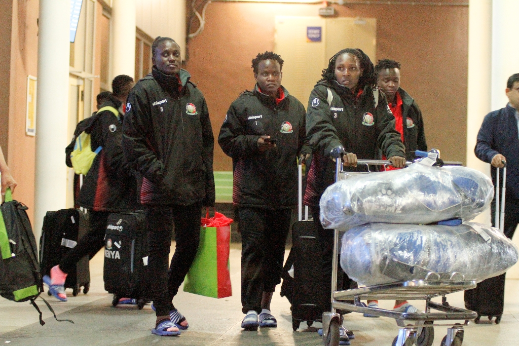 Harambee Starlets jet back, all set for CECAFA Women Championships