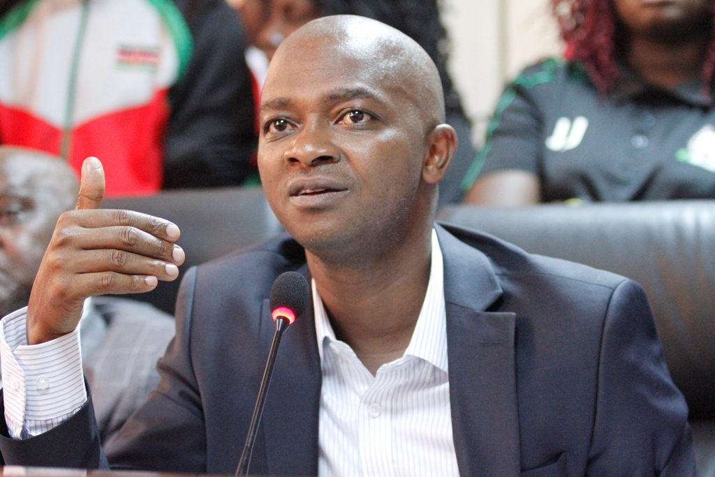 FKF President presents football's funding setback to Parliament's Sports Committee