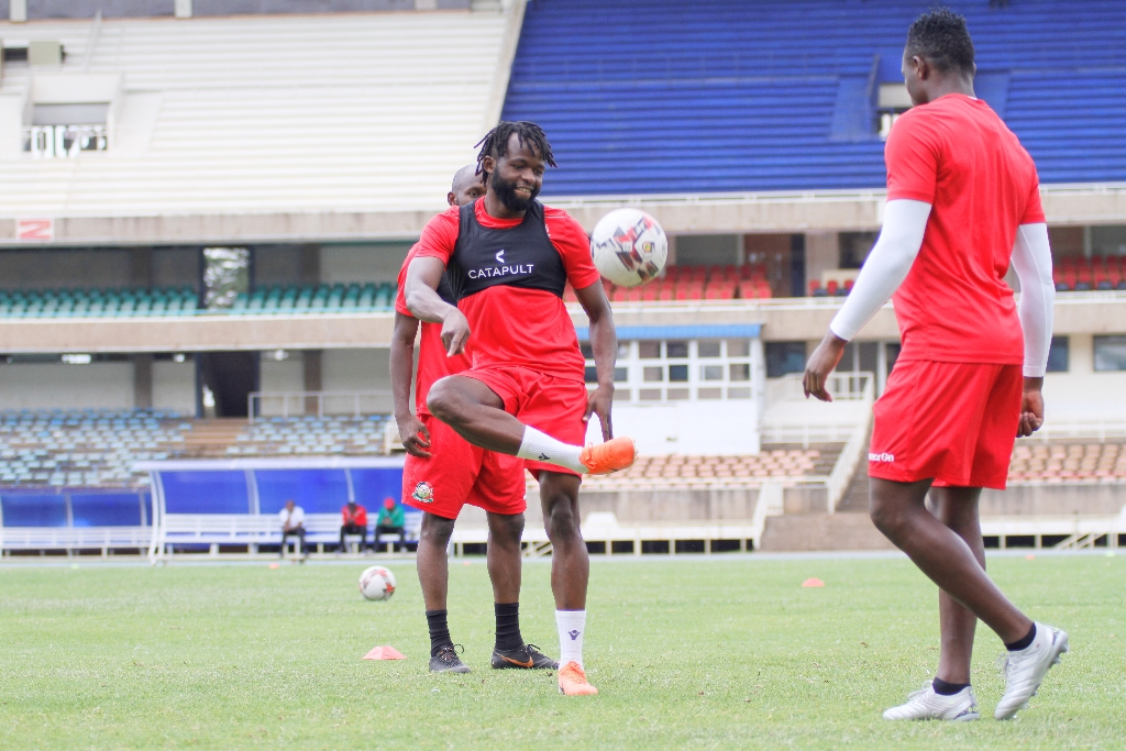 Harambee Stars hold final session ahead of Togo AFCON Qualifier