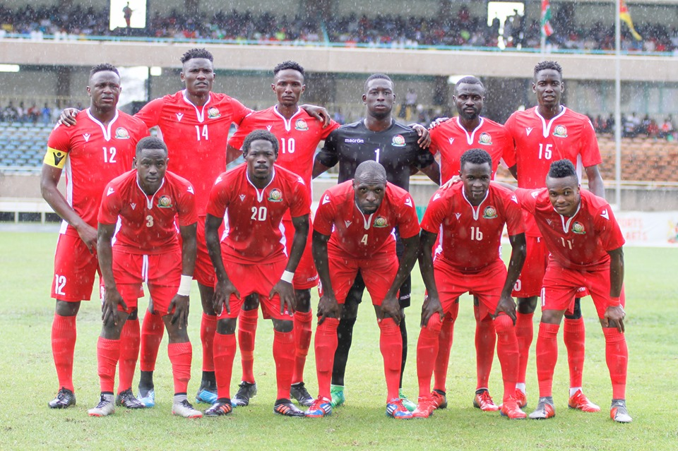 Harambee Stars squad for Egypt, Togo AFCON Qualifiers named