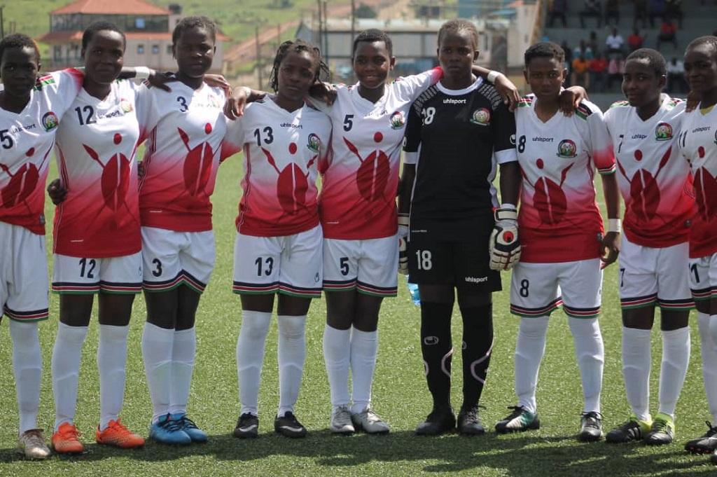 CECAFA U17: Kenyan Girls team holds second place ahead of Tanzania match