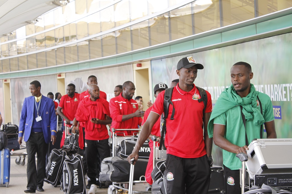 Harambee Stars depart to Uganda for CECAFA Senior Championships