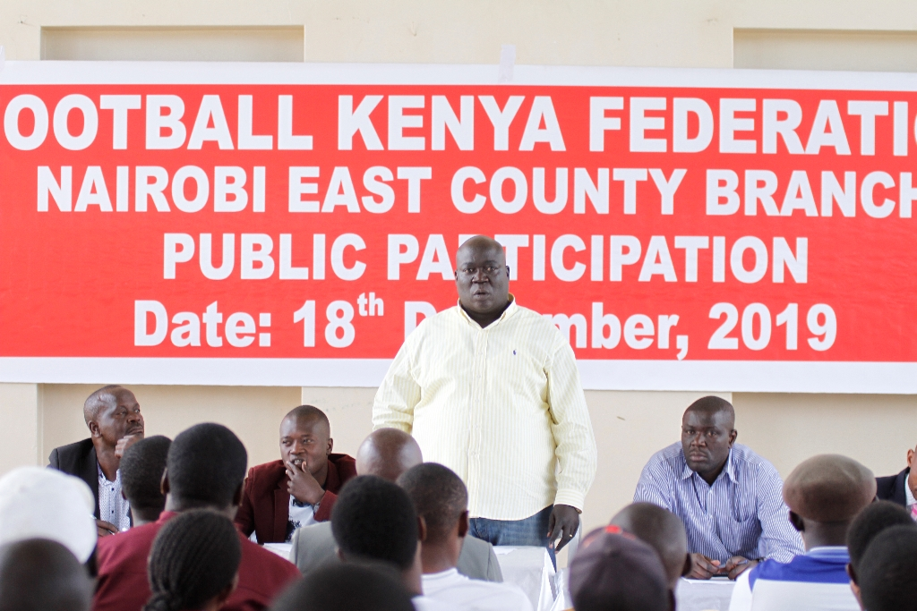FKF Nairobi East Branch holds public participation forum on Electoral Code ahead of repeat elections