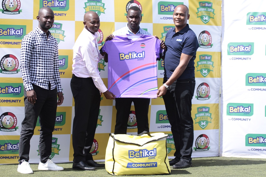 Betika National Super League clubs benefit from Betika,FKF partnership