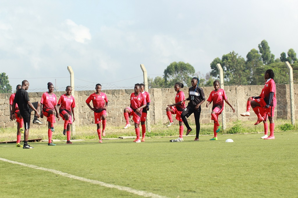 Harambee Starlets step up preparations ahead of Turkish Women Cup